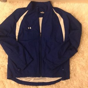 Under Armour blue jacket size small